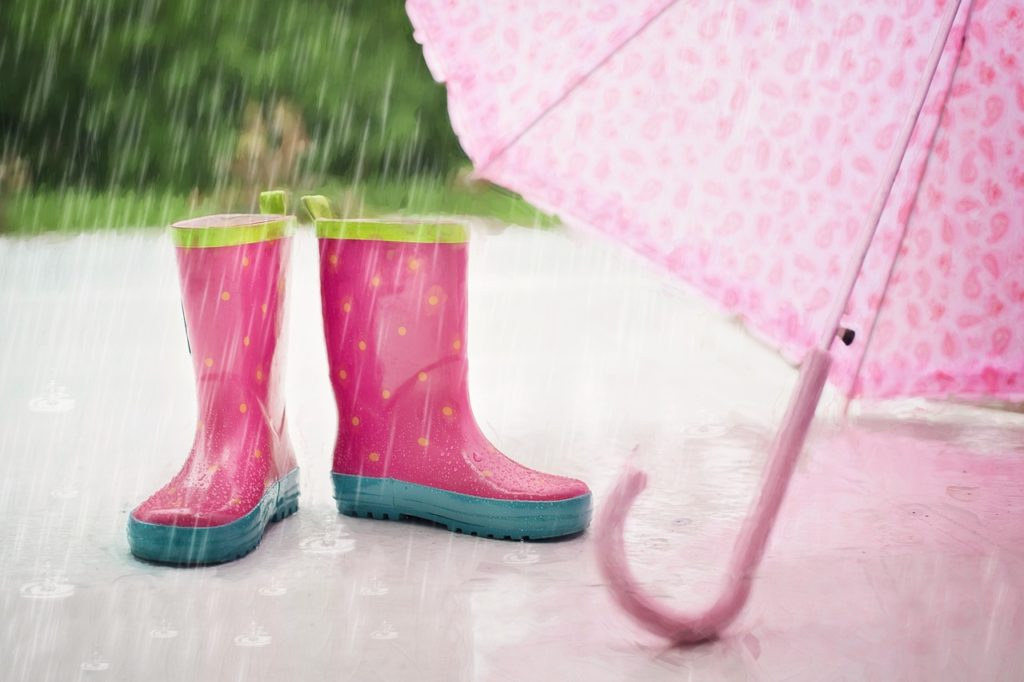 雨 ハゲる 薄毛 影響